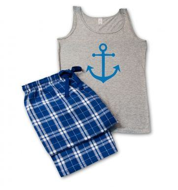 Anchor pyjamas (womens)
