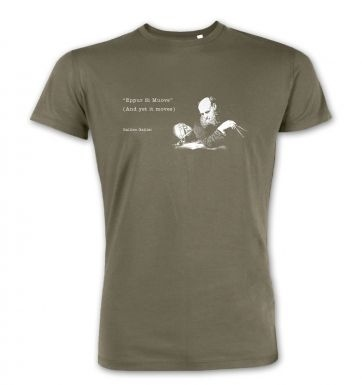 And Yet It Moves Galileo premium t-shirt