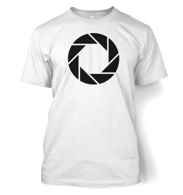 Aperture Science logo  t-shirt