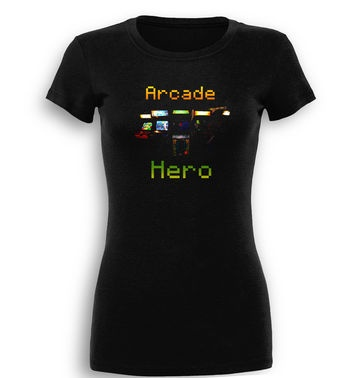 Arcade Hero premium women's t-shirt
