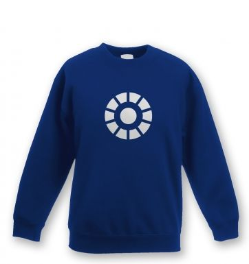 Arc Reactor  kids' sweatshirt