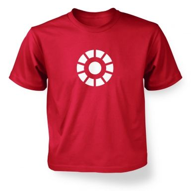 Arc Reactor  kids' t-shirt