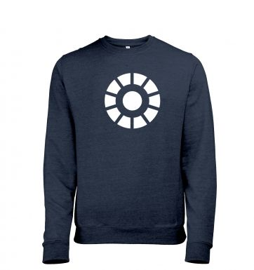 Arc Reactor heather sweatshirt