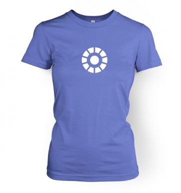 Arc Reactor women's fitted t-shirt