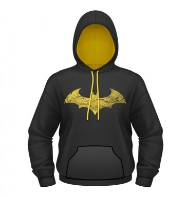 Batman: Arkham City Batman Logo hoodie - OFFICIAL