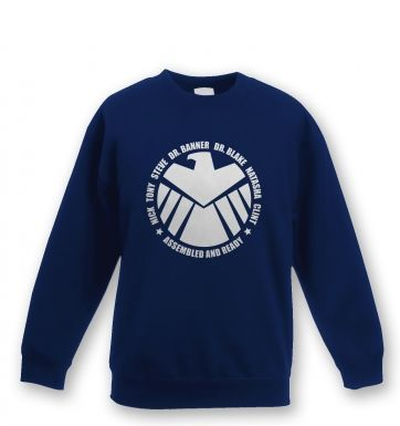 Assembled and Ready Kids Sweatshirt