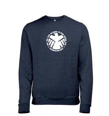 Assembled and Ready Mens Heather Sweatshirt   Inspired by The Avengers