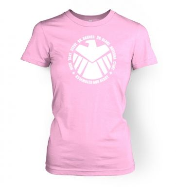Assembled And Ready womens fitted t-shirt