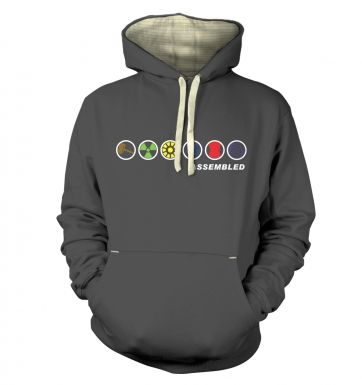 Assembled In A Row hoodie (premium)