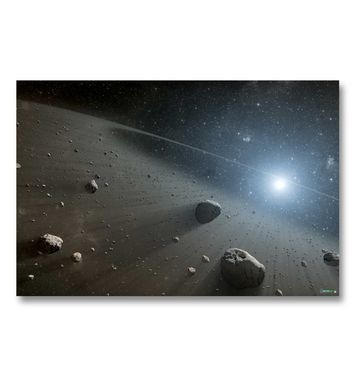 Asteroid Belt gaming mat