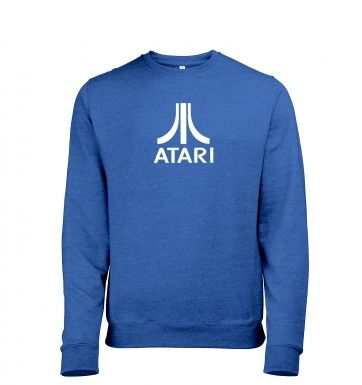 Atari Logo Mens Heather Sweatshirt  
