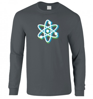 Atom long-sleeved t-shirt