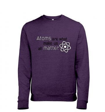 Atoms matter sweatshirt (heather)