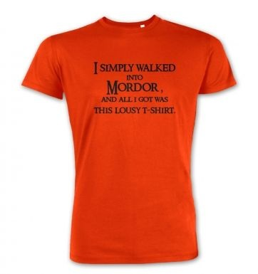 A T-shirt From Mordor premium t-shirt