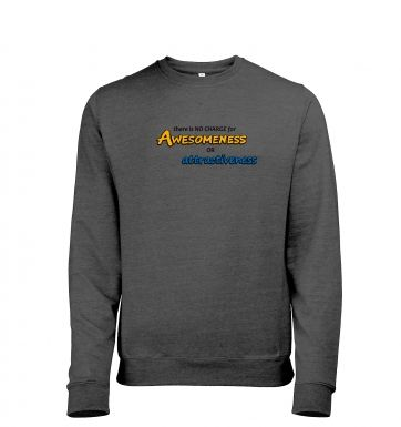 Awesomeness heather sweatshirt