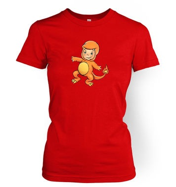 Baby Charmander women's t-shirt