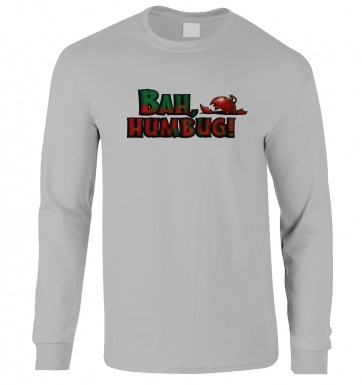 Bah Humbug long-sleeved t-shirt