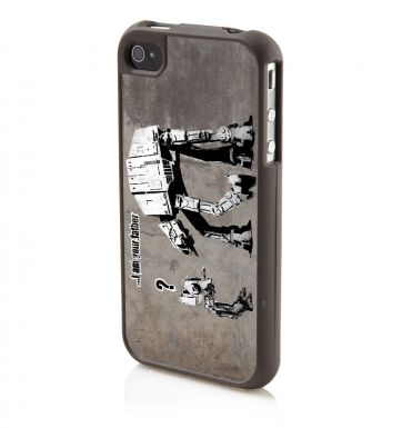 Banksy I Am Your Father  - Apple iPhone4/4s Phone case