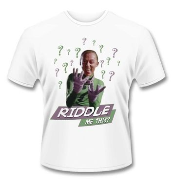 Batman Riddler Riddle Me This t-shirt