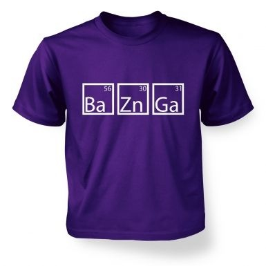 BaZnGa kids' t-shirt