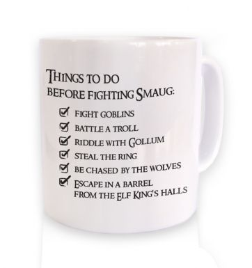 Before Smaug todo list mug