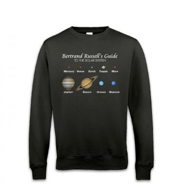 Bertrand Russell's Guide sweatshirt