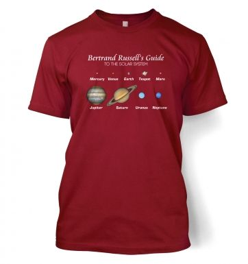 Bertrand Russell's Guide t-shirt