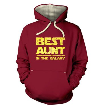 Best Aunt In The Galaxy premium hoodie
