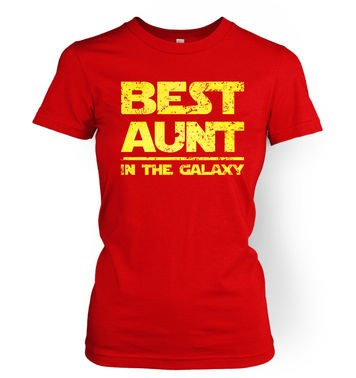 Best Aunt In The Galaxy womens t-shirt