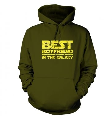 Best Boyfriend In The Galaxy  hoodie