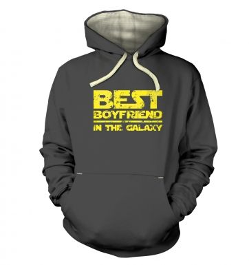 Best Boyfriend In The Galaxy adults' premium hoodie