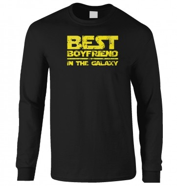 Best Boyfriend In The Galaxy long-sleeved t-shirt