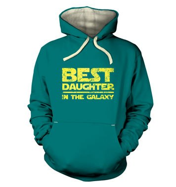 Best Daughter In The Galaxy premium hoodie