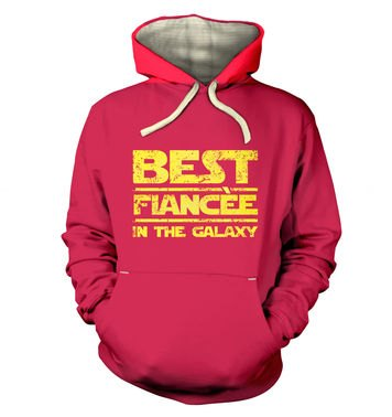 Best Fiancee In The Galaxy premium hoodie