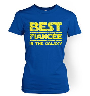Best Fiancee In The Galaxy women's t-shirt