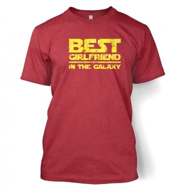 Best Girlfriend In The Galaxy  t-shirt