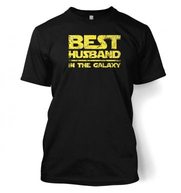Best Husband In The Galaxy men's t-shirt