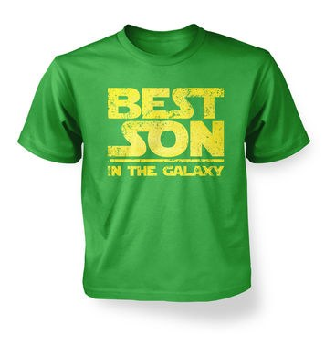 Best Son In The Galaxy kids t-shirt