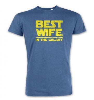 Best Wife In The Galaxy  premium t-shirt