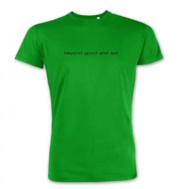 beyond good and evil  premium t-shirt