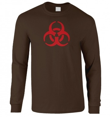 Biohazard long-sleeved t-shirt