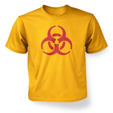 Biohazard Symbol  kids t-shirt