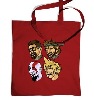 Bitch Please Gaming Heroes tote bag