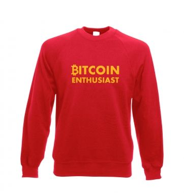 Bitcoin Enthusiast Adult Crewneck Sweatshirt