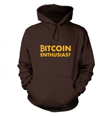 Bitcoin Enthusiast Hoodie 