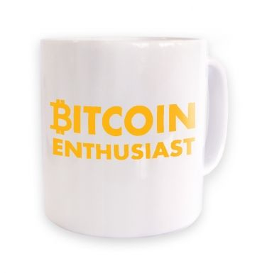Bitcoin Enthusiast mug
