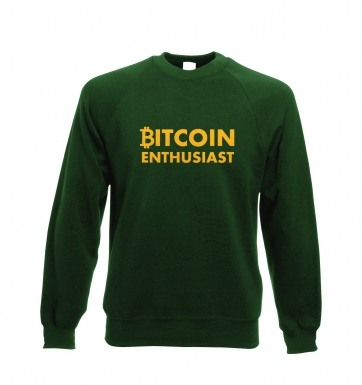 Bitcoin Enthusiast sweatshirt