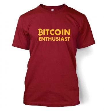 Bitcoin Enthusiast t-shirt