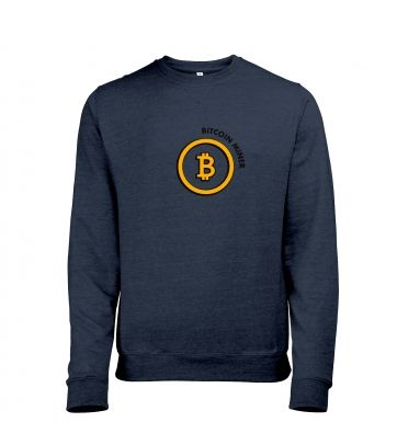 Bitcoin Miner Mens Heather Sweatshirt