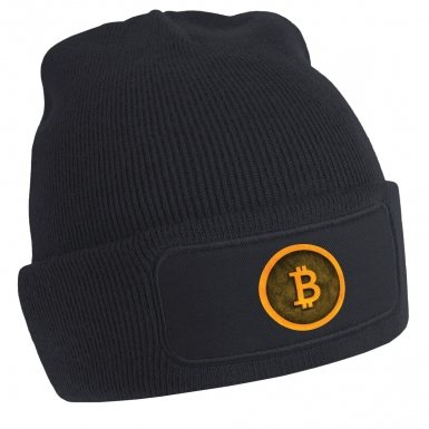 Bitcoin (yellow) beanie hat